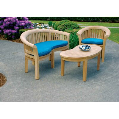 Image of Half Moon 3 Piece Seating Group
