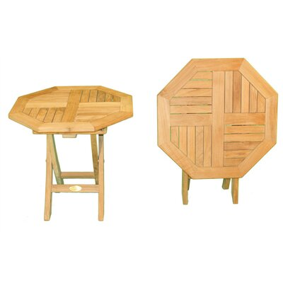 Image of Octagonal Folding Side Table