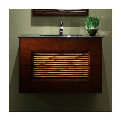 Bambu 36 Bathroom Vanity Set