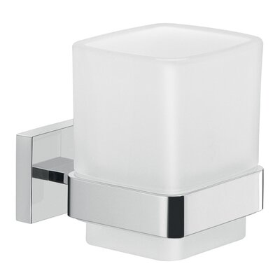 Gedy by Nameeks A010-13 Elba Wall Mounted Toothbrush Holder in Chrome 693961