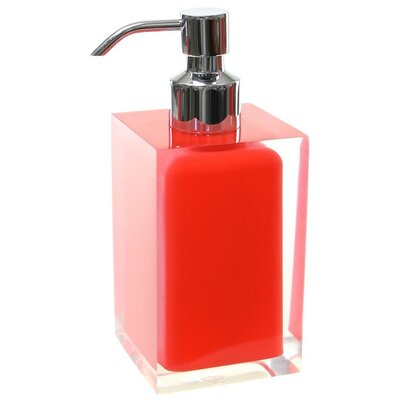 Scannell Soap Dispenser Finish: Red