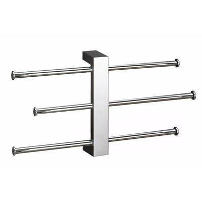Mitchell 3-Tier Wall-Mounted Towel Rack Gedy by Nameeks