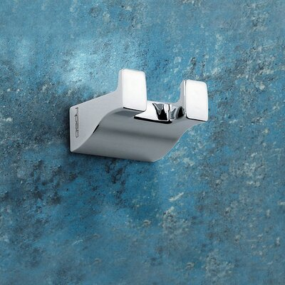 Gedy by Nameeks Glamour Wall Mounted Double Robe Hook 5726-13