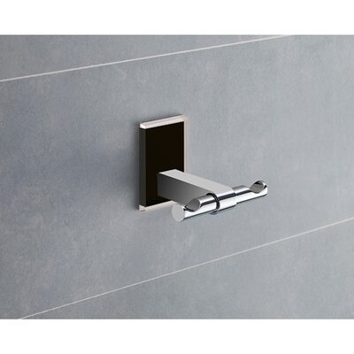 Mallory Wall Mounted Double Robe Hook Gedy by Nameeks