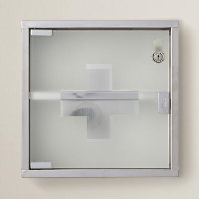 Park Row 11.8 x 11.8 Surface MountMedicine Cabinet