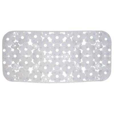 Margherita Rectangular Shower Mat Color: Transparent