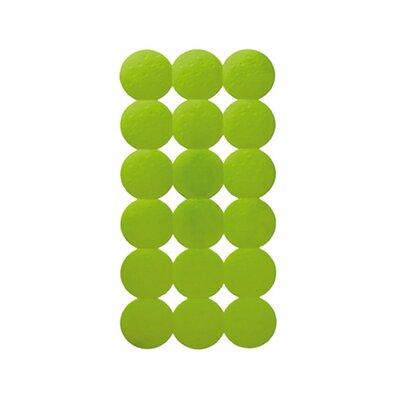 Giotto Rectangular Shower Mat Color: Acid Green