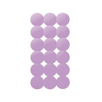 Giotto Rectangular Shower Mat Color: Lilac