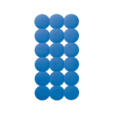 Giotto Rectangular Shower Mat Color: Light Blue