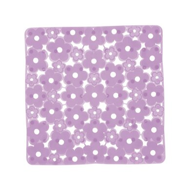 Margherita Shower Mat Color: Lilac