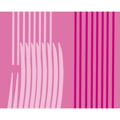 Monocromo Shower Curtain Color: Pink