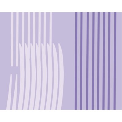 Monocromo Shower Curtain Color: Lilac