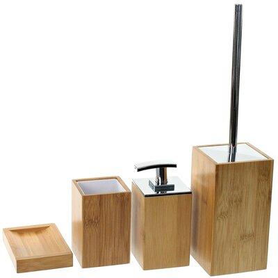 Potus 4-Piece Bathroom Accessory Set Gedy PO181-35