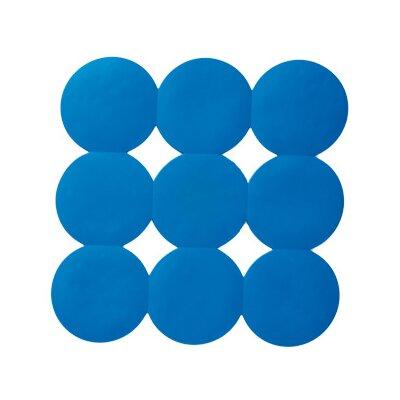 Giotto No-Slip Square Shower Mat Color: Light Blue