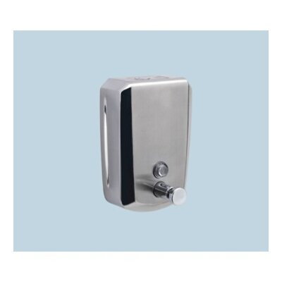 Epos Soap Dispenser in Stainless steel Depth: 4.5