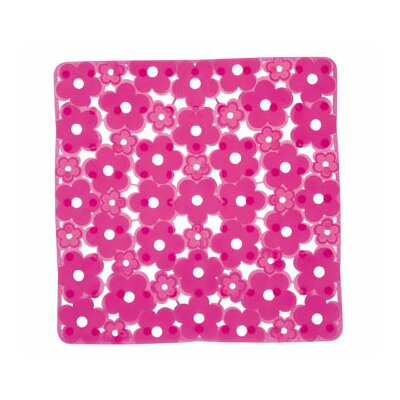 Margherita Shower Mat Color: Fuchsia