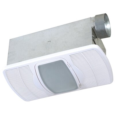 Air King Deluxe Exhaust Bathroom Fan with Heater - Bulb Type: Flourescent at Sears.com