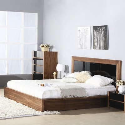 Hokku Designs Stark Platform Bed - Size: Queen at Sears.com