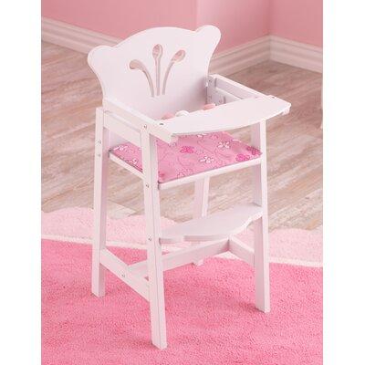 Hochstuhl Lil' Doll | Kinderzimmer > Kinderzimmerstühle > Hochstühle | Whitepink | KidKraft