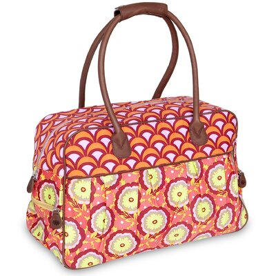 Dream Traveler boarding Tote Color: Tangerine