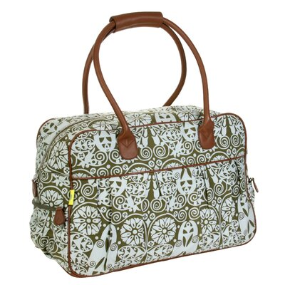 "Dream Traveler 20"" Carry-on Duffel Color: Temple Doors Tobacco"