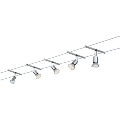 Schienenbeleuchtungsset 5-flammig | Lampen > Strahler und Systeme > Schienensysteme | Metall | Paulmann
