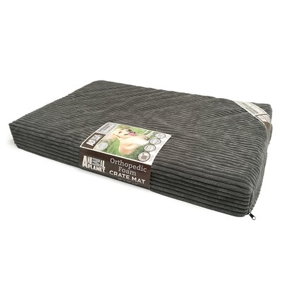Orthopedic Dog Bed Size: 40 L x 26 W, Color: Gray