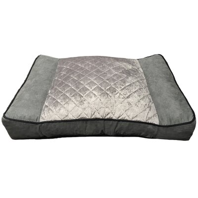 Memory Foam Dog Pad Color: Gray