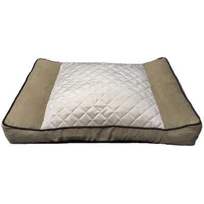 Memory Foam Dog Pad Color: Tan