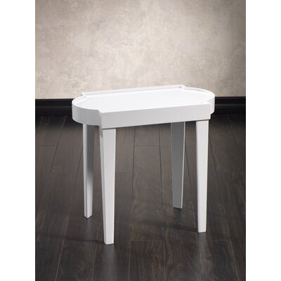 Leeza Rectangular End Table