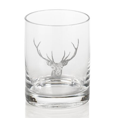 Stag Head Double Old Fashioned Glass CH-3897S