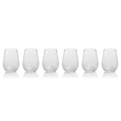 Sardina Glass 19.27 oz. All Purpose Wine Stemless Set BYST6602 42411510