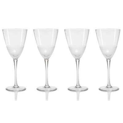 Sardina Glass 13.5 oz. All Purpose Wine Goblet Set BYST6601 42411509