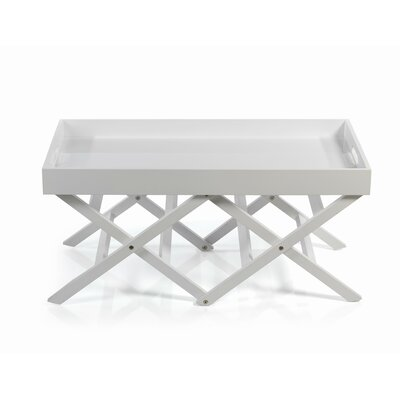 Belvedere Folding Table with Tray Top