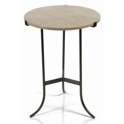 Bellingham High Marble Top End Table