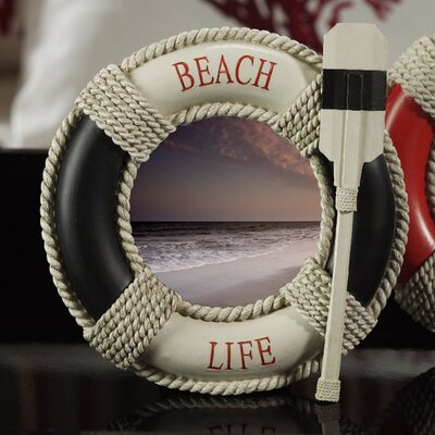 Beach Life Picture Frame Color: Black CH-2596
