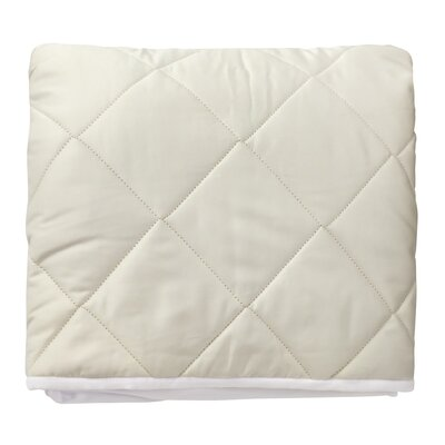 Wash N Snuggle Fitted Cotton Mattress Pad Size: King