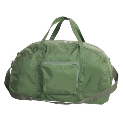 """23"""" Packable Travel Duffel Color: Green"""