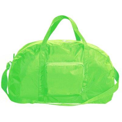 "23"" Packable Travel Duffel Color: Lime"