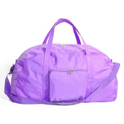 """23"""" Packable Travel Duffel Color: Purple"""