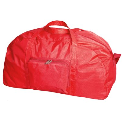 """23"""" Packable Travel Duffel Color: Red"""