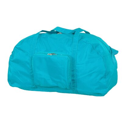 """23"""" Packable Travel Duffel Color: Teal"""