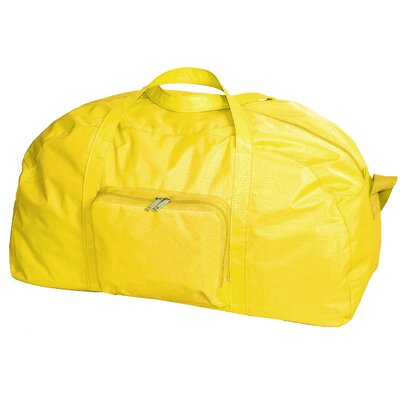 """23"""" Packable Travel Duffel Color: Yellow"""