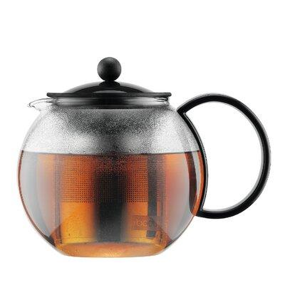 Bodum 1805-01US Assam Glass 34-ounce Tea Press with Stainless Steel Filter 17597474