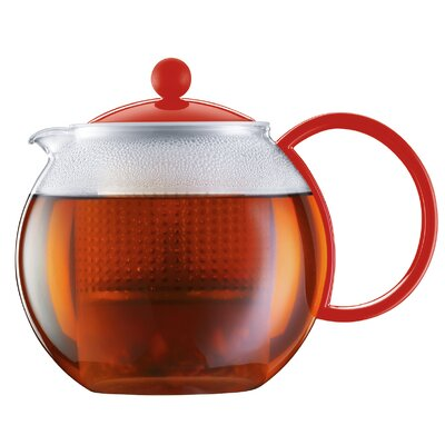 Bodum Red Assam Teapot Press 1844-294US
