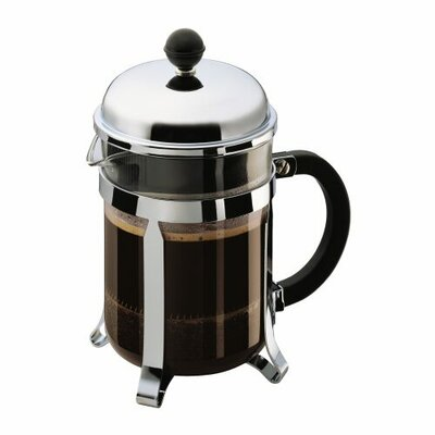Bodum Chambord 4-Cup French Press Coffee Maker (Grey)