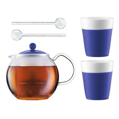 Bodum Assam 5 Piece Tea Press Set K1830-528-Y15