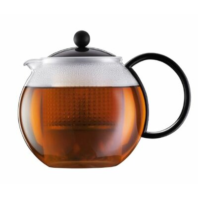 Bodum Black Assam Teapot Press 1842-01US