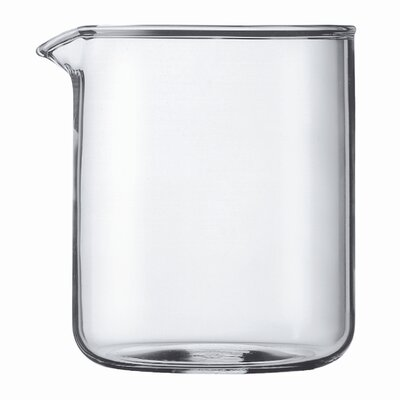 Bodum Spare Glass 4 Cup Plastic French Press Shatterproof Replacement Beaker 01-1504-10-230