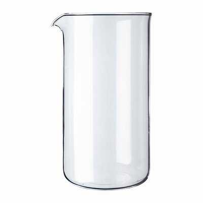 12 oz. Plastic French Press Shatterproof Replacement Beaker 01-1503-10-230